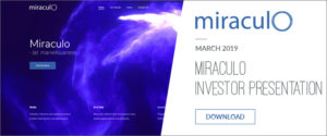 Miraculo Inc Investor Presentation Financial Information